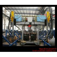 Quality H Beam Production Line Gantry Welding Machine / Equipment With Two Submerged Welder for sale