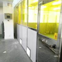 Quality Candy Industry Filter Cleaning Booth Stainless Steel Frame Module Class 1001000 10000 for sale