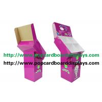 Quality Promotion Pos Cardboard Display Shelf , Corrugated Pop Display Recycled Material for sale