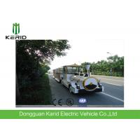 Quality Mini Road Electric Trackless Train For Outside Using Customized Body Color for sale