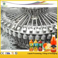 Quality Monoblock 3-In-1 Juice Filling Machine 15000BPH Automatic Pet Bottle For Fruit for sale
