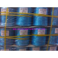 Quality 22500D Blue PP Raw Material Polypropylene Tying Twine Packing Rope SGS Certification for sale