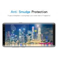Quality Anti Smudge Note 8 Curved Screen Protector , 9H Hardness Tempered Glass Screen Protector for sale