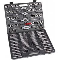 Quality 118pcs Carbon Steel / Alloy Steel Metric Tap and Die Sets , Metric Thread Cutting Tool for sale