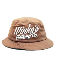 Quality 100% cotton cheap customized bulk 3Dembroidered folding bucket hat size of 58-60. for sale