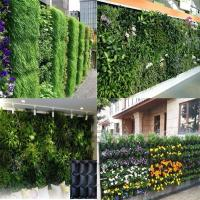 Quality Wall planting grow bag makes your outer wall to be a green garden,customized design for sale