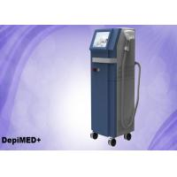 Quality 10 Bars 808nm Diode Laser Hair Removal Machine 800W 15x15mm2 10.4 for sale