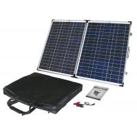 Quality 60W Poly Portable Folding Solar Panels Anodized Aluminum Alloy Frame for sale