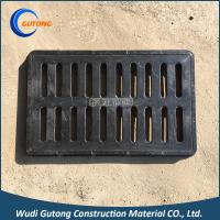 Quality 450*750 FRP BMC Composite Square Gully Rainwater Grating with Frame EN124 for sale