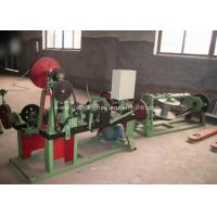 Quality Automatic Barbed Wire Making Machine , PVC Coated Barbed Wire Fencing Machine for sale