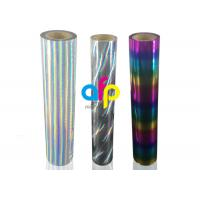 Quality Holographic / Laser Hot Stamping Foil For Fabrics / Fabric for sale