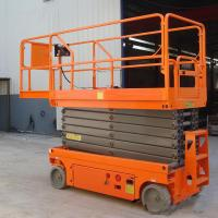 Buy cheap Mobile Scissor Lift Extension Platform High Strength Steel 230kg Capacity from wholesalers