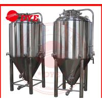 Buy 7BBL Conical Beer Fermenter , Conical Stainless Steel Fermenter at wholesale prices