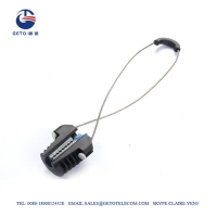 Quality Standard Corrosion Resistance 3mm 3KN ADSS Cable Clamp for sale