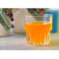 Buy Machine Pressed 250ml Whiskey tumbler drinking glasses , Juice Glass Cup at wholesale prices