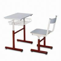 Quality School Chair with Powder Coating, Height Adjustable Size, Made of Steel Frame for sale