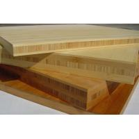 Quality naturally solid bamboo panel products with European grade glue in crossed construction for sale