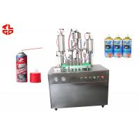 Quality Anti Rust Spray Aerosol Filling Machine for sale