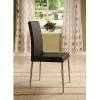 Quality Comfort Ss Leather / Faux Leather Dining Chairs High Back Dining Chairs 500*590*800mm for sale