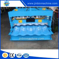China Alibaba glazed corrugated roofing sheet making machine on sale