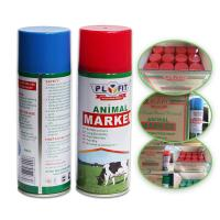 Quality Long Lasting Animal Marking Spray Paint 2 Years Shelf Life For Pigs Cows Horse Sheep for sale