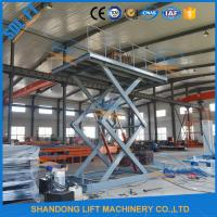 China 5M Home garage Car Lifting Equipment , Scissor Car Parking Lifts with CE TUV on sale
