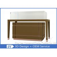 Buy OEM Jewelry Glass Showcase / Jewellery Display Counter Showcase at wholesale prices
