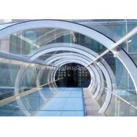 Quality Green House Tempered / Laminated Safety Glass , Curved  Sheet Glass Panels for sale