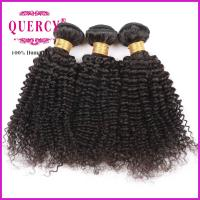 Buy 8A 100% Unprocessed Virgin Remy Kinky Curl Brazilian Human Hair weave at wholesale prices