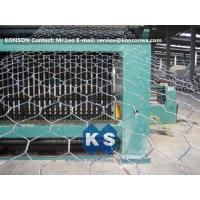 Quality Automatic Hexagonal Wire Netting Production Line Heavy Duty Gabion Mesh Machine for sale
