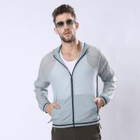 New Version Man Sunproof Chinlon Skin Clothes