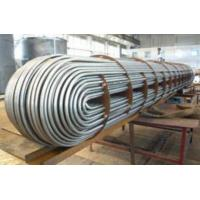 Quality 304 316 U Bend Stainless Steel U Tube For Heat Exchange ASTM A213 Standard for sale