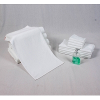 Quality All Ages 80% Cotton White Towels for sale