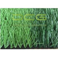 Buy cheap Dark Green And Light Green PE Artificial Grass Football For School Sports from wholesalers
