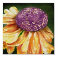 Quality art flower art painting restaurant wall picture for sale