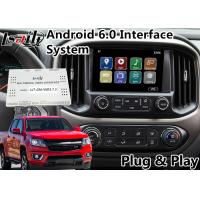 Buy cheap Android 6.0 Multimedia Video Interface for Chevrolet Colorado / Impala MyLink System 2015-2018 , GPS Navigation from wholesalers
