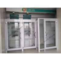 Quality 8mm to 22mm tempered / toughened  glass door with ISO9001, CE, Australia  AS/NZS 2208 Certificate for sale