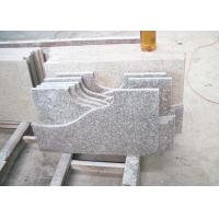 Quality Granite Bathroom Vanity Countertops Slabs Polished / Flamed Finish for sale