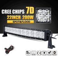 Quality Super Bright Row 3W Cree Off Road Led Light Bar 7D Reflector With Dayrunning Light IP68 Waterproof for sale