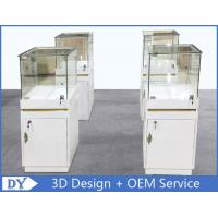 Quality MDF Jewellery Display Cabinets With Lock OEM 450 X 450 X 1250MM for sale