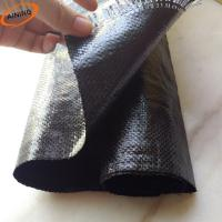 China PP Woven Weed Control Mat / Ground Cover Mesh Fabric / Agricultural Black Plastic Ground Cover on sale