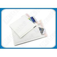 China Gold / White Eco-friendly Kraft Bubble Envelopes Padded Mailing Bags For Express on sale