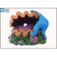 Buy Polyresin Air Operated Large Fish Tank Ornaments With Bubble Effect For Aquarium Decorations at wholesale prices