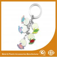 Quality Baby Shape Drop Personalised Engraved Keyring / Customised Key Chains for sale