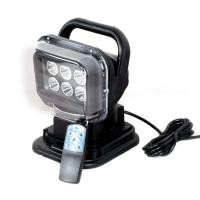 Buy cheap 12V 30W 2400 Lumens LED Remote Control Marine Boat Car Searchlight Wireless Spotlight Magnetic Base from wholesalers
