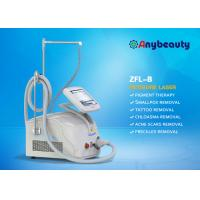 Buy 1064nm 532nm 755nm Nd Yag Laser Tattoo Removal Machine With Korea Treatment Head at wholesale prices