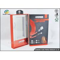 Buy Rigid Cardboard Product Packaging Boxes Die Cutting Finishing With PVC Window at wholesale prices