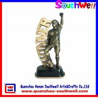 Quality Footabll Action Figurines,polyresin figurines for sale