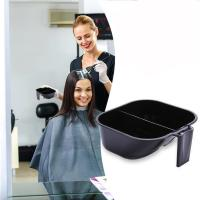 Quality Washable 2 In 1 Hair Dye Bowl , Hairdressing Tint Bowls With Measuring Line for sale
