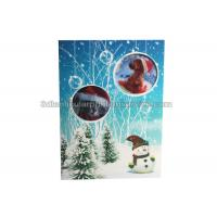 Quality Lenticular Custom 3d Stickers With Offset Printing For Greeting Card for sale